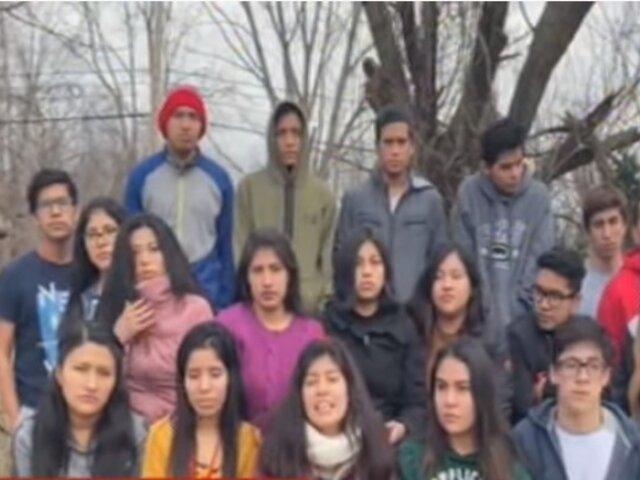 Estudiantes peruanos siguen varados en Estados Unidos