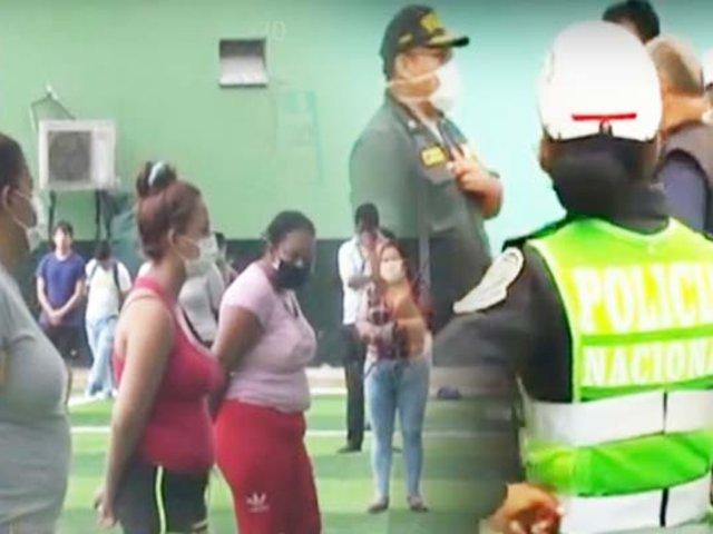 SJL: venezolanos son intervenidos en albergue por alterar la tranquilidad de la zona