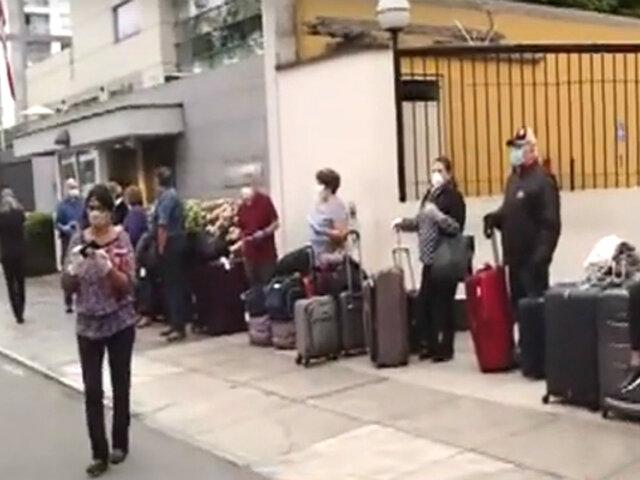 Miraflores: 400 ciudadanos canadienses esperan regresar hoy a su país