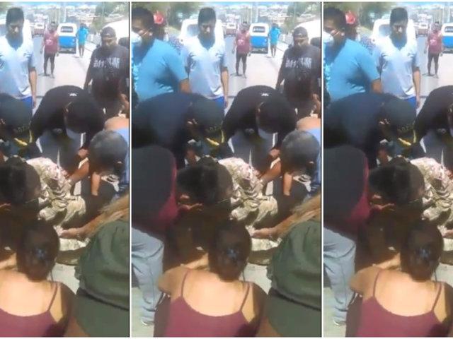 Coronavirus en Perú: mototaxista embistió a militar en Piura
