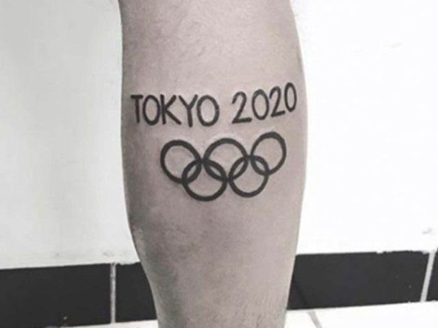 "Covid-19: destacado maratonista lamenta haberse tatuado ""Tokio 2020"""