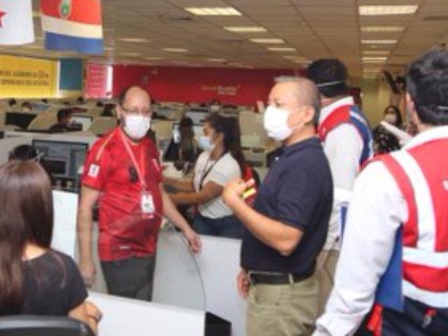 Jesús María: intervienen call center con 330 trabajadores en sus instalaciones