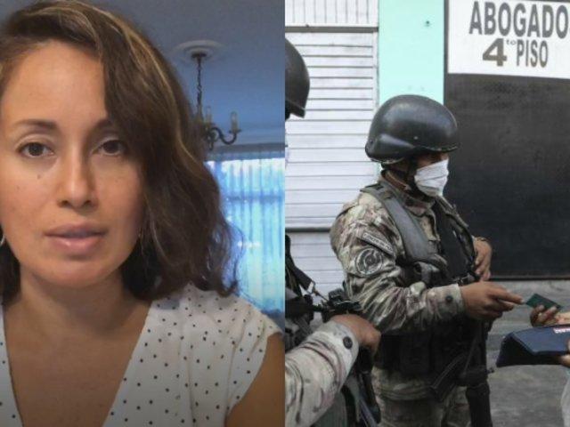 """Elizabeth Zea sobre Covid-19 en Perú: """"Ha sacado la peor cara de nuestra sociedad"""""""