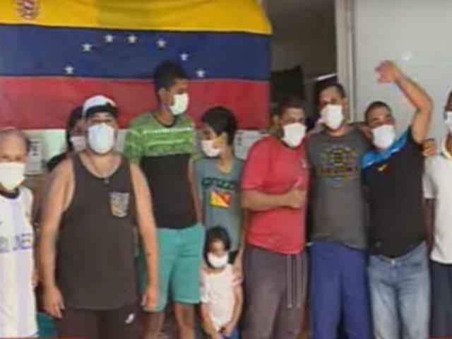 SJL: policía interviene albergue de ciudadanos venezolanos