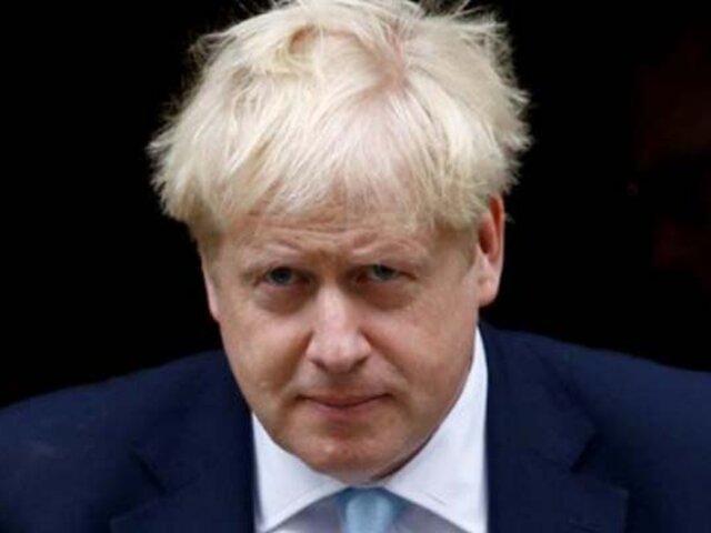 Reino Unido: Boris Johnson da positivo por coronavirus