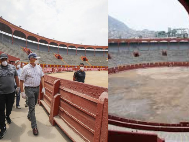 Alcalde Muñoz supervisa implementación de albergue temporal en Plaza de Acho