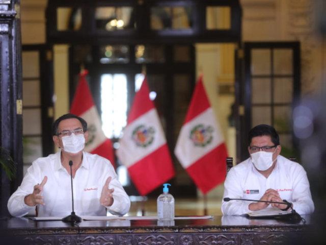 Vizcarra: familias recibirán bono adicional para cubrir el segundo periodo de emergencia