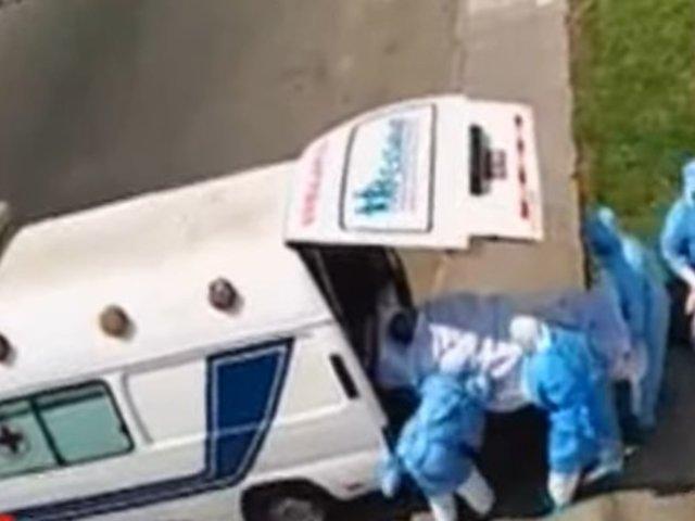 Paciente con Covid-19 era trasladado sin medidas de protección