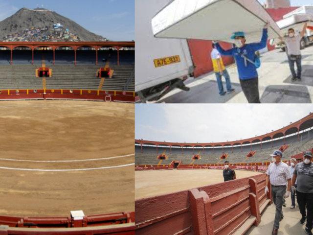 Lima 2019 entregó 30 toneladas de donaciones para albergue en Plaza de Acho