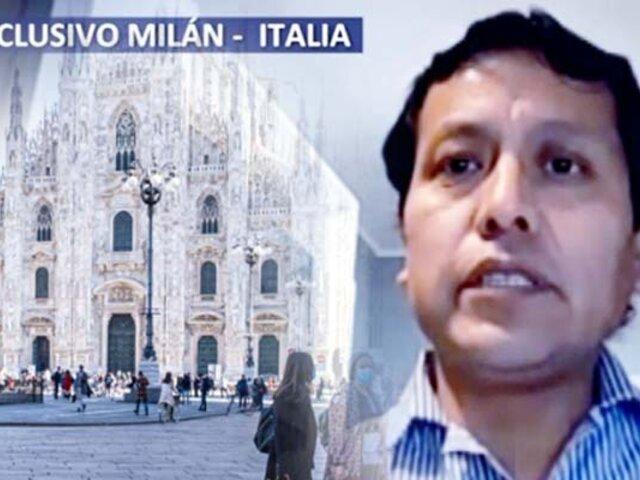 ¡Exclusivo! Conozca el testimonio del enfermero peruano que contrajo el coronavirus en Italia