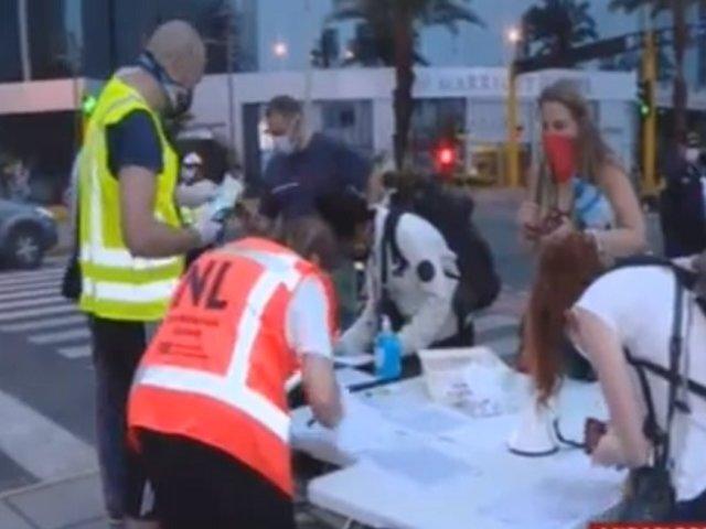 Al menos 400 holandeses atrapados en Perú serán repatriados este mediodía