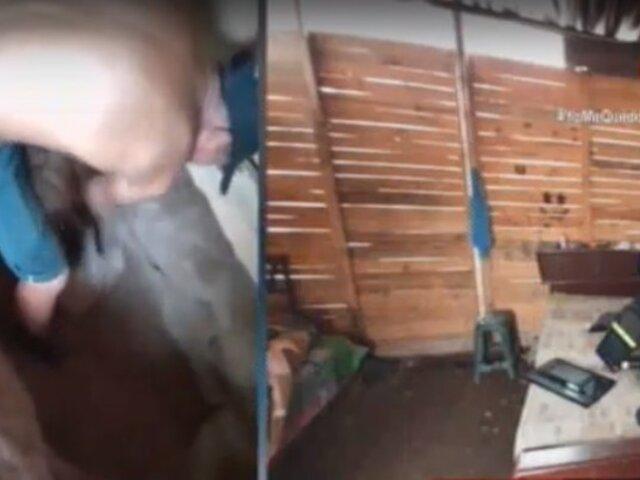 """Santa Rosa: capturan a delincuentes que asaltaron colegio en """"Toque de queda"""""""