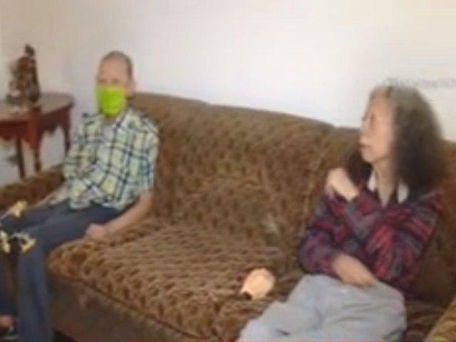 Piden ayuda para una pareja de ancianos abandonada en vivienda de La Molina