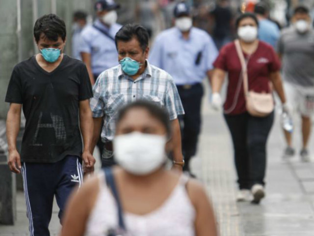 Uso de mascarillas será obligatorio en todo el país, anunció Vizcarra