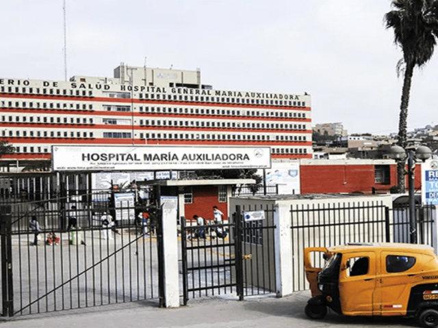 Coronavirus en Perú: más de mil trabajadores de hospital María Auxiliadora aislados por contagio