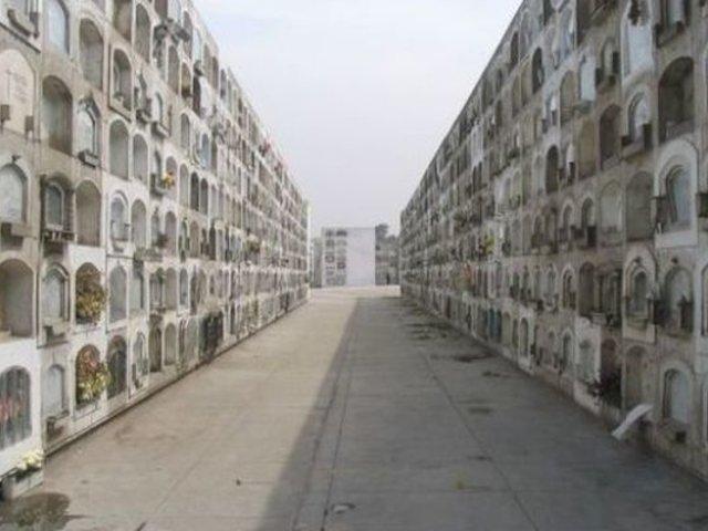 Cementerio El Ángel luce vacío y solo funciona servicio de cremación tras estado de emergencia