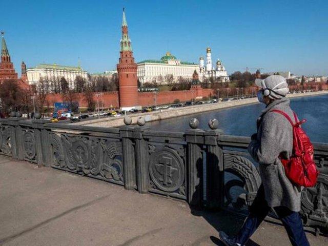 Coronavirus en Rusia: decretan confinamiento para todos los habitantes de Moscú