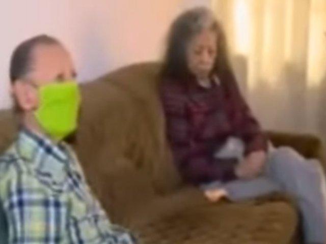 La Molina: ancianos viven de la caridad de sus vecinos en plena pandemia