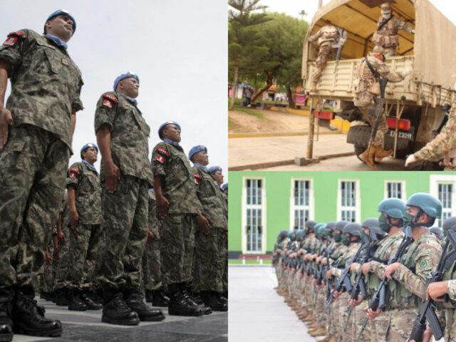 Más de 10 mil reservistas se suman al ejército por Emergencia