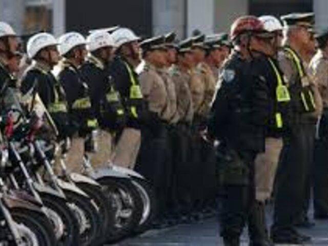 Presencia de Policías y Fuerzas Armadas continuará por meses