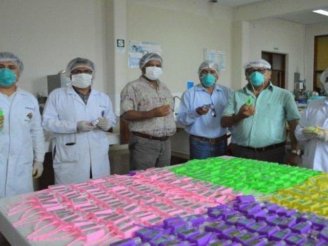 La Libertad: donarán gel antibacterial a policías, militares y personal de salud
