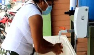 Instalan lavamanos públicos para prevenir contagio del COVID-19