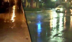 Intensa lluvia de otoño sorprendió a vecinos de Lima y Callao