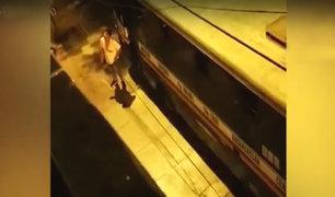 Estado de emergencia: extranjeros atacan a vecina durante toque de queda en Santa Anita