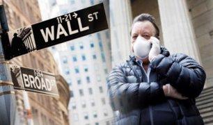 EEUU: fuertes caídas en Wall Street tras proyecciones sobre la pandemia del COVID-19