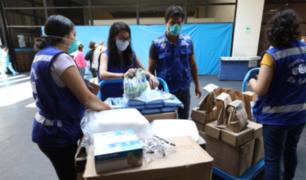 EsSalud recibe donaciones de empresas privadas por emergencia sanitaria