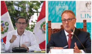 Vizcarra respalda iniciativa de alcalde Muñoz de convertir Plaza de Acho en albergue