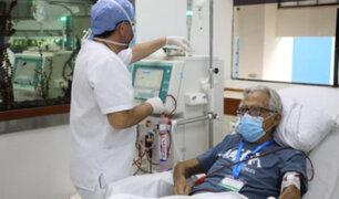 Garantizan atención de pacientes con hemodiálisis ante ampliación de toque de queda