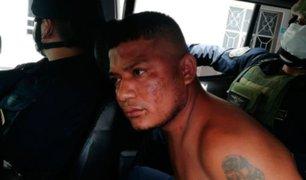 Cae peligroso delincuente que asesinó a policía en Piura