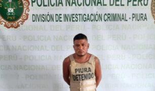 Piura: capturan a sujeto que disparó y asesinó a policía