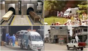 Día 17: Cuerpos de muertos por coronavirus son enterrados a falta de crematorios