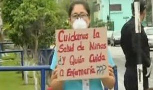 Hospital del Niño: enfermeras alertan de riesgo de contagio de coronavirus