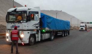 Sutran: transportistas de carga que trasladen pasajeros serán sancionados