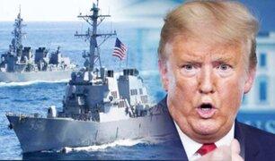 Donald Trump envía militares navales a la costa de Venezuela