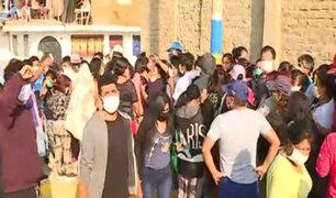 VES: cancelan reparto de víveres organizado por club Deportivo Municipal