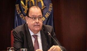 Presidente del BCR propone que afiliados a AFP reciban alrededor de S/ 1.200 mensuales