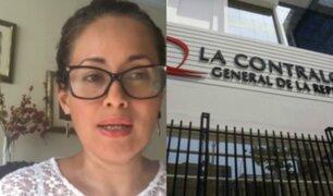 Elizabeth Zea: control concurrente garantiza legalidad en uso de bienes del Estado
