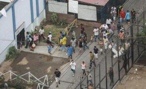 Alertan planes de amotinamiento en penal de Lurigancho en medio de emergencia sanitaria