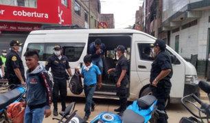 Coronavirus: más de 4 mil detenidos por incumplir cuarentena en Huánuco