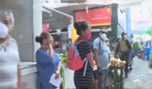 Policía realizó simulacro de saqueo en mercado del Callao