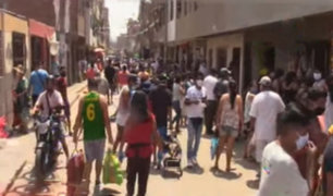SMP: desalojan a comerciantes ambulantes de alrededores de mercado