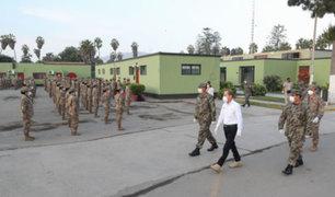Ministerio de Defensa dio la bienvenida a reservistas del Ejército