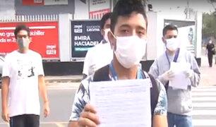 Estado de emergencia: denuncian despido arbitrario de trabajadores de call centers