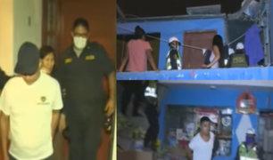 Día 18 por el Covid-19: Personas que incumplieron Toque de Queda fueron detenidos al interior de sus casas