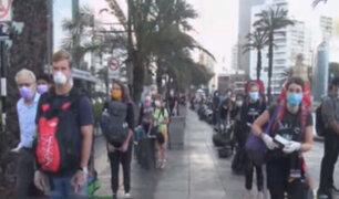 Turistas nórdicos regresan a sus países y peruanos retornan de Australia