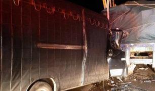 Áncash: madre e hijo mueren en accidente de tránsito en la Panamericana Norte
